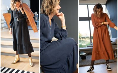 La robe Brune d'hiver !