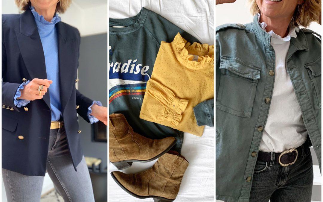 -20% sur les blouses Paloma et pulls Sam avec le code Mai !